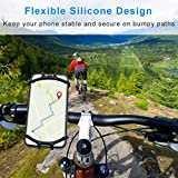 Bike Phone Mount, 360°Rotation Removable