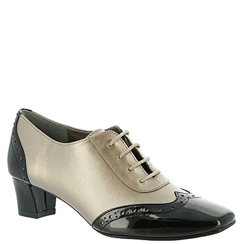 f0a64ad982f1 Auditions First Class Women s Pump 5 B(M) US Pewter-Black