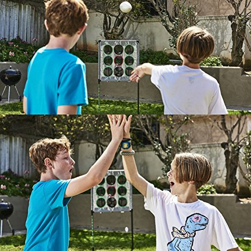 Quarterback Touchdown - Indoor / Outdoor Football Toss - 4 Games in 1. Perfect for the Beach, Camping, Tailgate, Yard, Garage, Man Cave, Hallway Etc...Portable, Anytime / Anywhere!