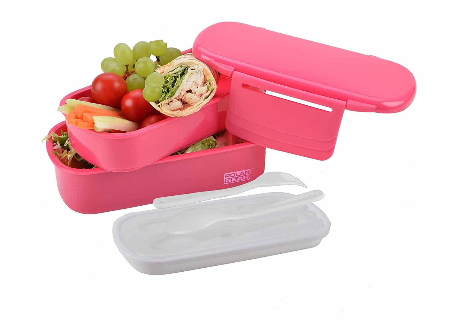 Polar Gear Bento Lunch Box, Berry, 1.1 Litre 1.1 Litre DNC UK LTD 965 594