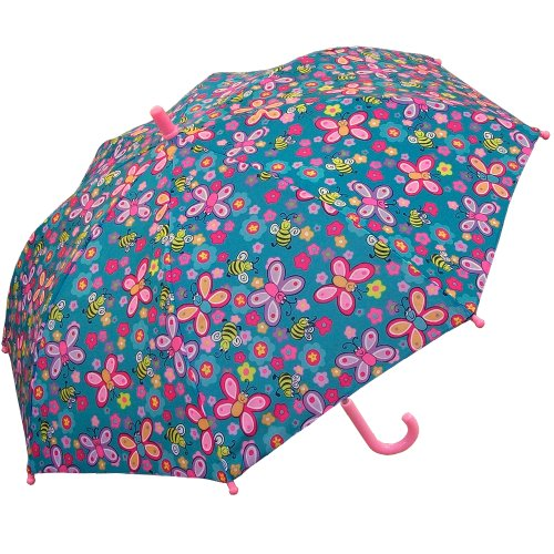 RainStoppers Kid's Bee Print Umbrella, 34-Inch (Print Umbrella)