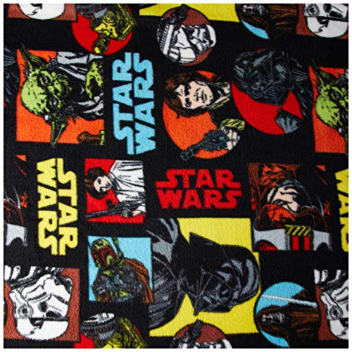 (Eugene Textiles Star Wars Characters Fleece Multi Fabric by the Yard)