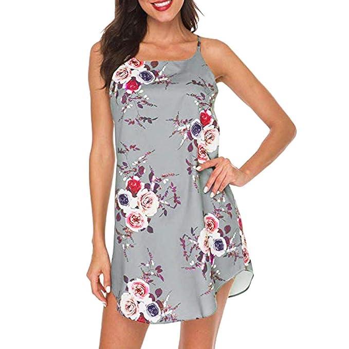 Plus Größe Kleid Slim Fit Kurzes Kleid Sommer Frauen Ärmellos Strand Overall