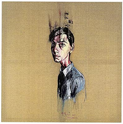 Zeng Fanzhi retrato size 28x38cmt.15x11inches Ed.150 Lithografic repro