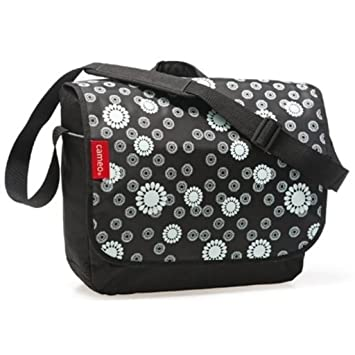 WEILANDEAL New Looxs Cameo Messenger Bag 12 L Flower Black RT0922 Material   Fabric bicycle pannier bags bicycle pannier bags  Amazon.co.uk  Sports   ... c1a8952376b8a