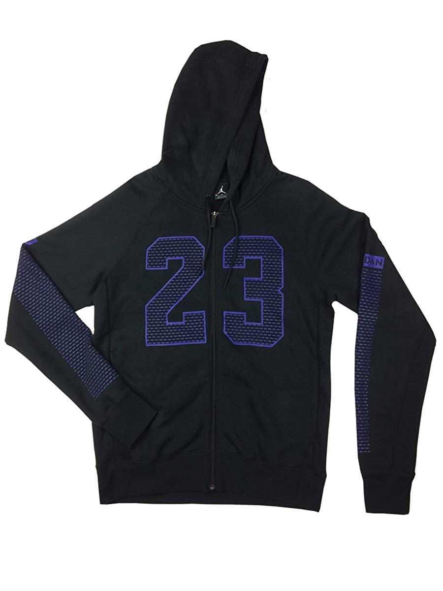 c864b91b4346 NIKE Air Jordan Mens Flight Flash Retro 23 Full Zip Hoodie Shirt (Large) at  Amazon Men s Clothing store