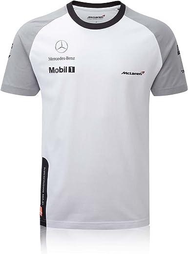 McLaren Mercedes 2014 para Hombre de Color Blanco Kevin Magnussen ...