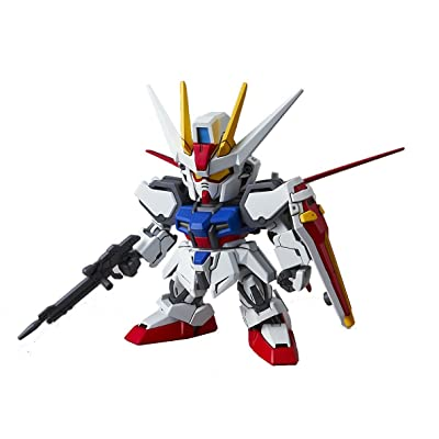 Bandai Hobby SD EX-Standard Aile Strike Gundam Action Figure: Toys & Games