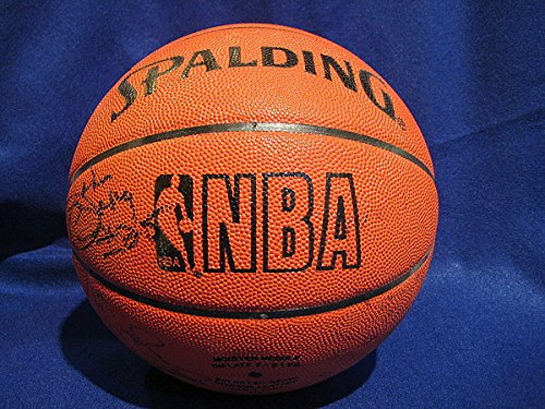 1988-89-Detroit-Pistons-Signed-Basketball-Bad-Boys-JSA-Certified-Certified-Authentic-Signed-Autograph