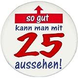 MakenGO über Santa Fe Express Sticker Button SO GUT AUSSEHEN zum 1. bis 100. Geburtstag + Happy Birthday Button Klasse Geschenkidee zum kleinen Preis.