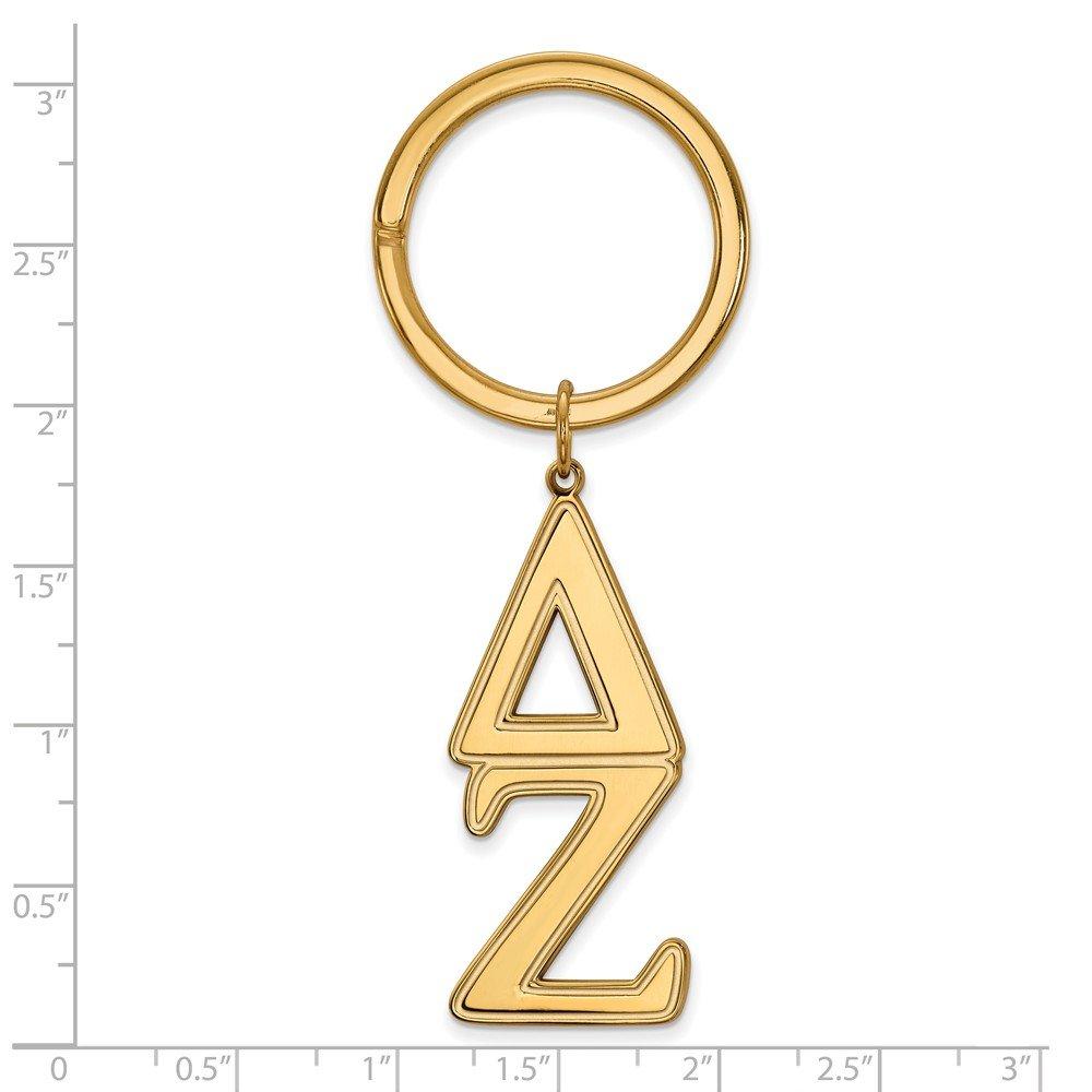 Amazon.com: Plata de Ley 925 Maciza con tono dorado Delta ...