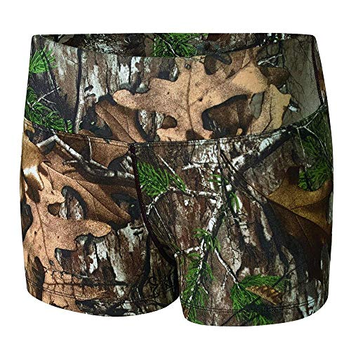 Terramar Women's Stalker Shorty, Mossy Oak Break-Up Camouflage , X-Large