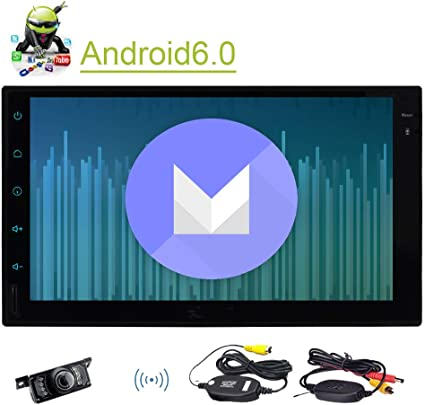 XYH.AN60271GNN+YCAM.hz Eincar New Developed 7 Android 6.0 Quad Core HD Capacitive Touch Screen Double 2 Din Car Radio Stereo Support Bluetooth 1080P Mirrorlink Auto GPS Navigation Head Unit Car Stereo Reverse Camera OBD EGood CO LTD