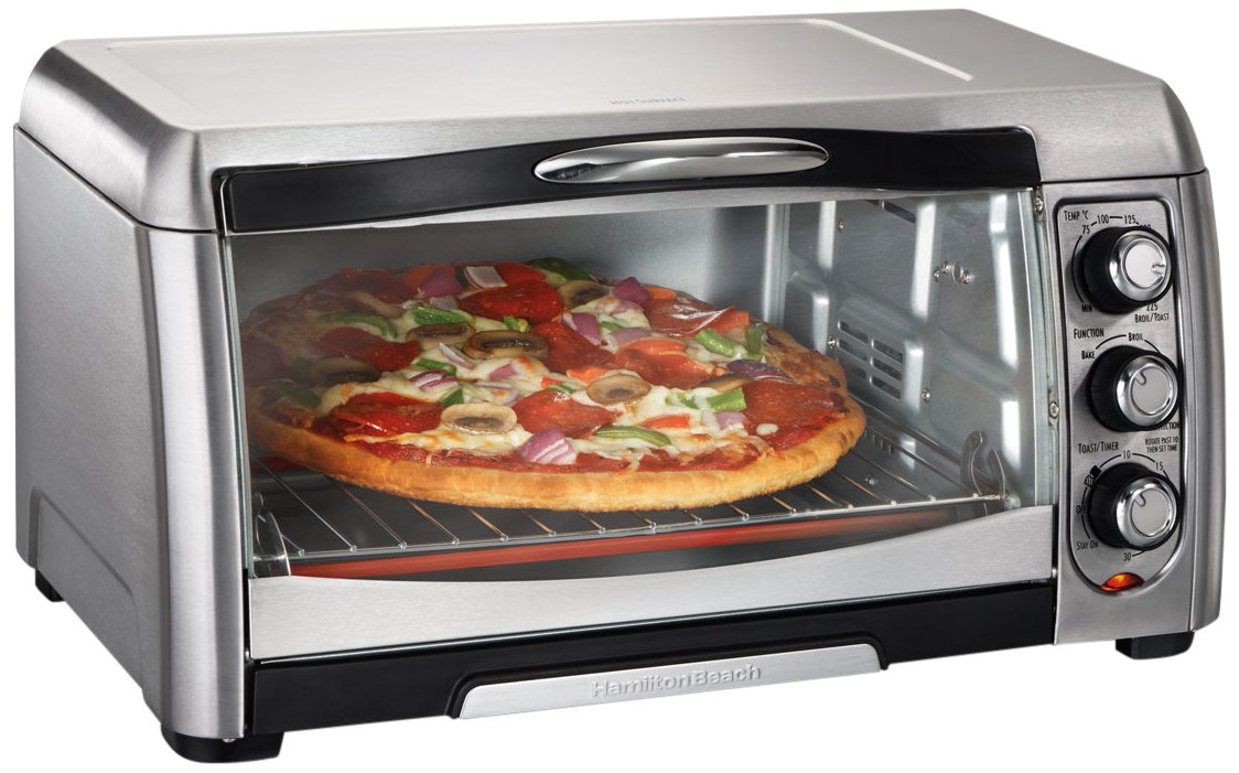 shop toaster oster buybeehive oven convection black rakuten w slice toast product tssttvcgbk pizza