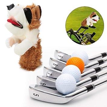 Cubiertas de cabeza de golf, 460cc Forma de perro de mascota ...