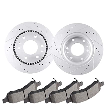 Brakes And Rotors >> Amazon Com Eccpp Brakes And Rotors Kit 2pcs Front Discs
