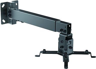 Xereon Universal Wand Deckenhalterung Für Beamer Projektoren Beamer Halterung Schwarz Elektronik