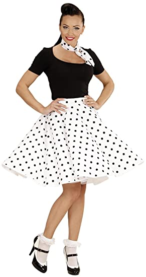 3668d5bd1573 WIDMANN 01079 ? Adult Fancy Dress Costume 50s Rock 'n 'Roll Girl ...