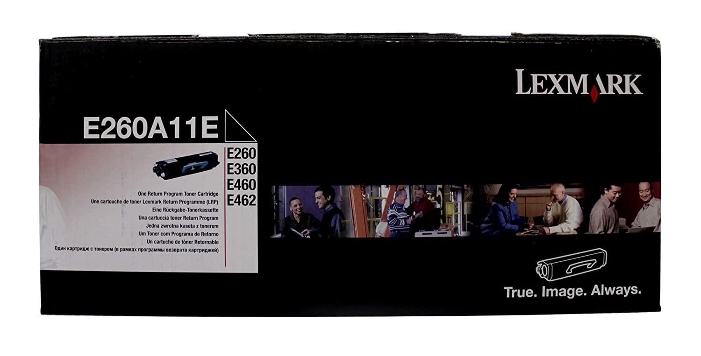 Lexmark E250A11E - Lexmark E250 cartucho de tóner negro Cartucho ...