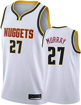 Hombre Mujer Ropa de Baloncesto NBA Nuggets 27# Murray Jersey ...