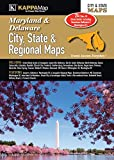 Maryland & Delaware City, State, & Regional Maps