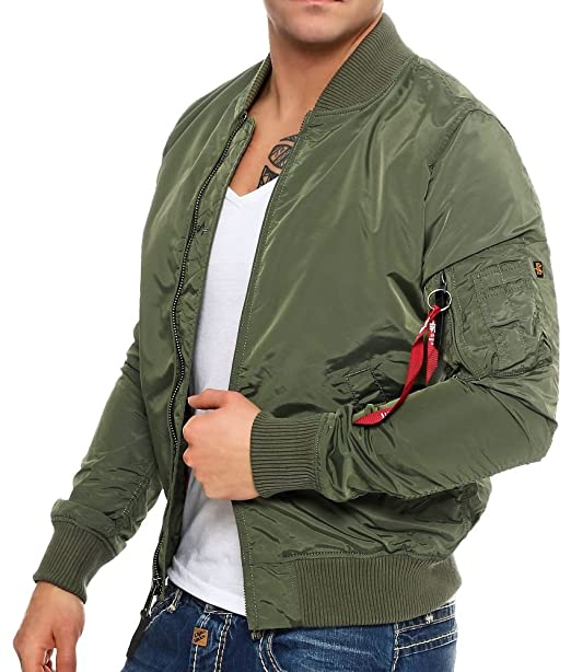 low priced 0d578 4e643 Alpha Industries Herren Ma- Tt Bomberjacke