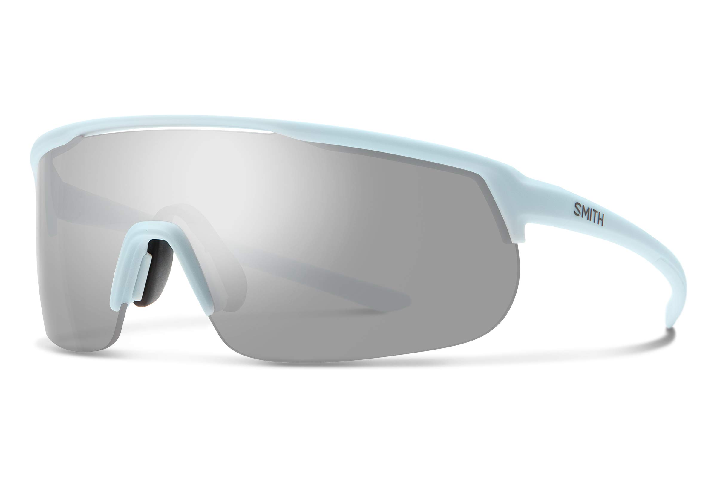 Smith Track Stand Chromapop Sunglasses, Matte Powder Blue, Chromapop Platinum/Contrast Rose