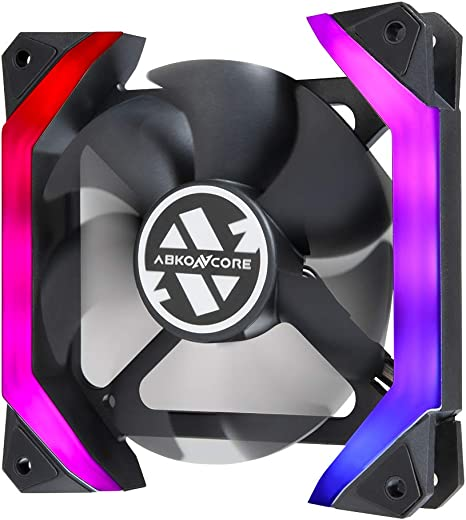 Abkoncore Sp120 Pc Lüfter Sync Rgb 120 Mm Computer Zubehör