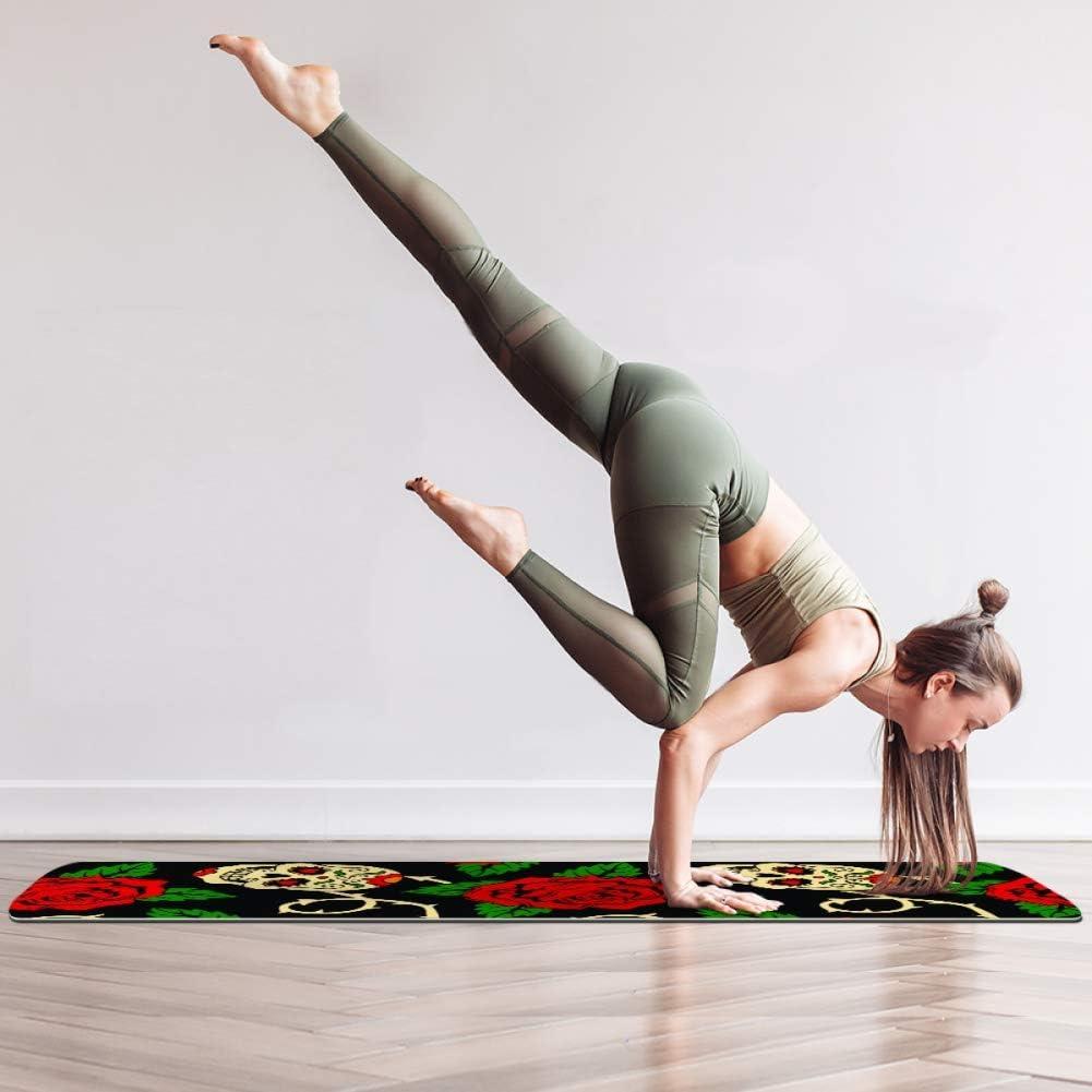 Yoga tapis gymnastique Tapis Sport Tapis Yoga Pilates tapis gymnastique Tapis 61x183x0,6 cm