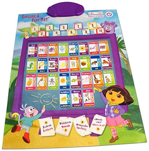 Dora Explore and Play Mat (Dora The Explorer Abc Game)