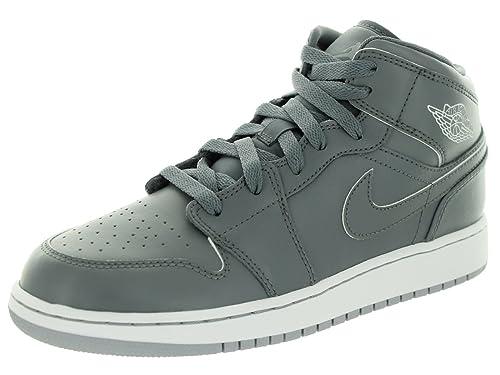 Nike Jordan 1 Mid (BG), Zapatillas de Baloncesto para Niños: Amazon.es: Zapatos y complementos