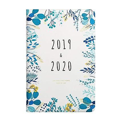 Mobrvo - Agenda 2019 2020 semanal A5 1 semana en 2 páginas ...