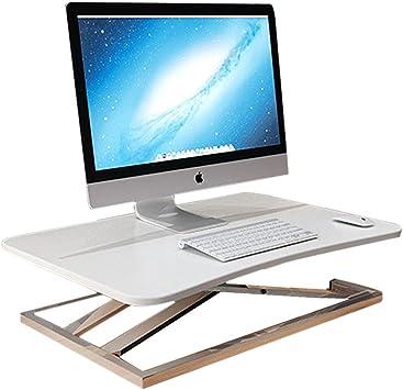 Escritorio de la computadora de pie mesa plegable para computadora ...
