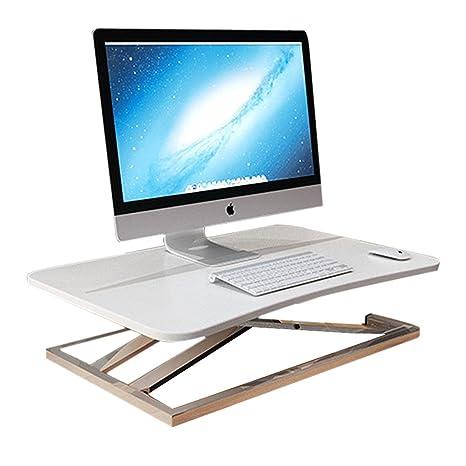 Escritorio de la computadora de pie mesa plegable para computadora escritorio portátil mesa elevadora banco de