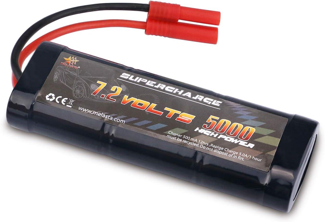 Bateria 7.2V 5000mAh NiMH con conector banana