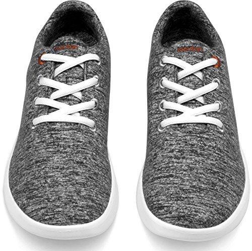 Mouton Grey Shoes Unisex Merino Dark by Le Lightweight Wool SdSgz