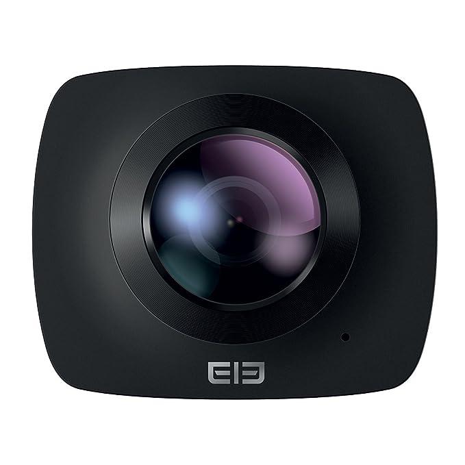Elephone - EleCam360 Camara de Acción de 360º, Negra