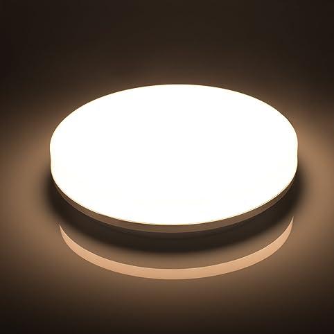 Öuesen LED Deckenleuchte W LED Deckenlampe Neutralweiß K - Led deckenleuchte fur badezimmer