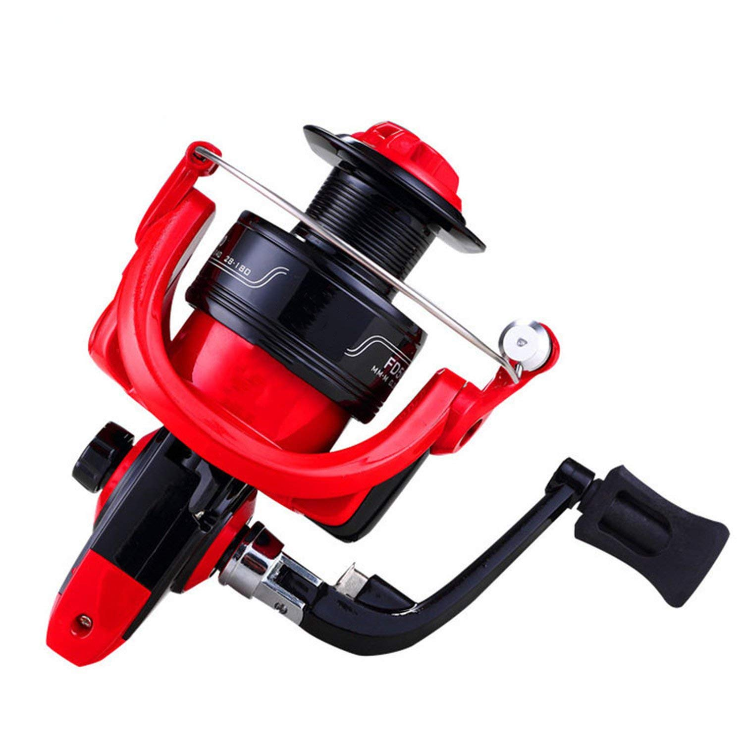 As Picture 6000 Series Fishing Reel Left and Right Hand Exchange Winter Fishing Reel Molinete Spinning Fishing Reel Fishing Gear Equipmet