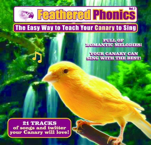 Feathered Phonics Volume 7: The Easy Way To Teach Your Canary To Sing, My Pet Supplies