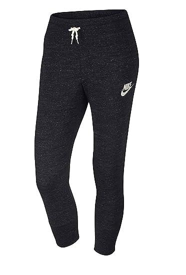 4ab6341351d54 Amazon.com: Nike Youth Girls Gym's Vintage Capri Pant Black 811575 ...