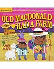 Indestructibles: Old MacDonald Had a Farm: Chew Proof · Rip Proof · Nontoxic · 100% Washable (Book for Babies, Newborn Books, Safe to Chew)