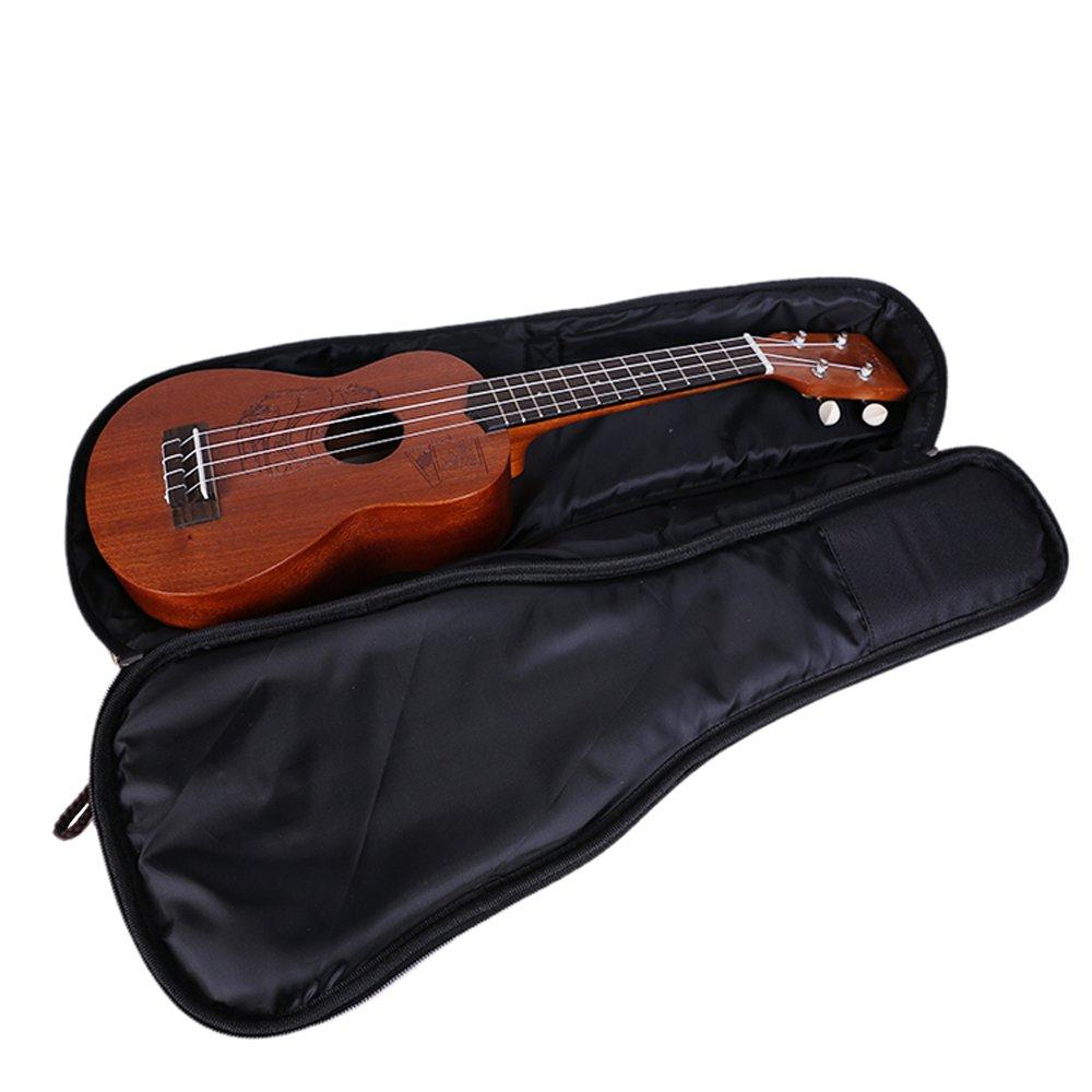Funda para ukelele de Zealux® con correas ajustables para los hombros de 10 mm, con relleno de esponja, estilo bohemio: Amazon.es: Instrumentos musicales