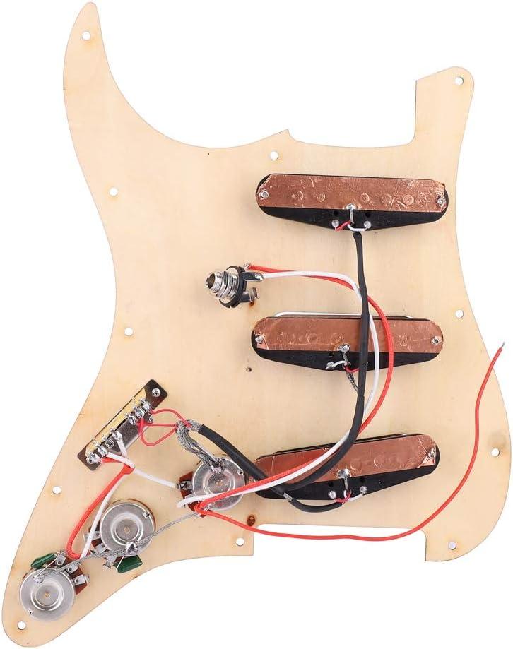 Loaded Electric Guitar Pickguard Prewired Pickguard with Pickups