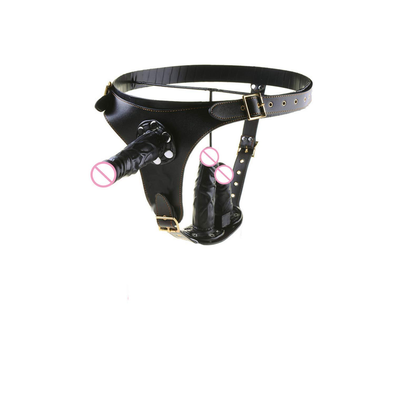 Vibrador ajustable postizo arnés consolador Vi vibradores usables ...