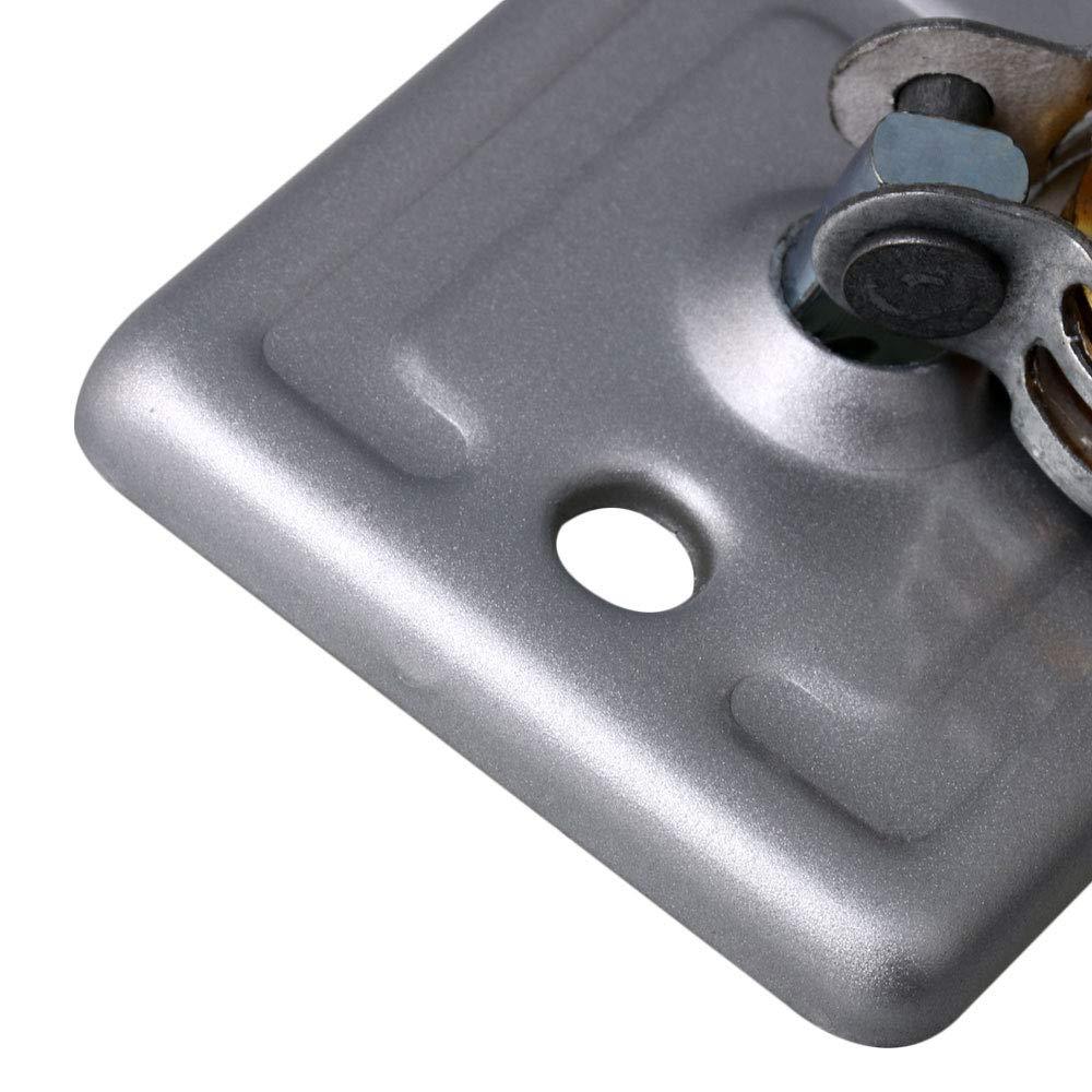 Color Plateado RDEXP Tendedero de Doble polea con manivela
