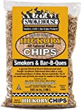 wood chips for smokers hickory - SmokeHouse Products All Natural Flavored Wood Smoking Chips - Hickory