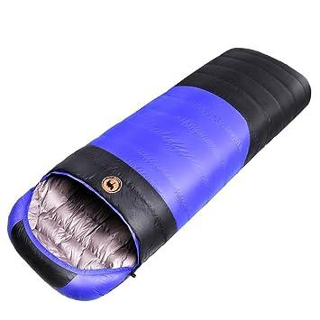 samcamel 3 Saco de dormir cálido Camping ligera impermeable blanco piel de plumón de pato: Amazon.es: Deportes y aire libre