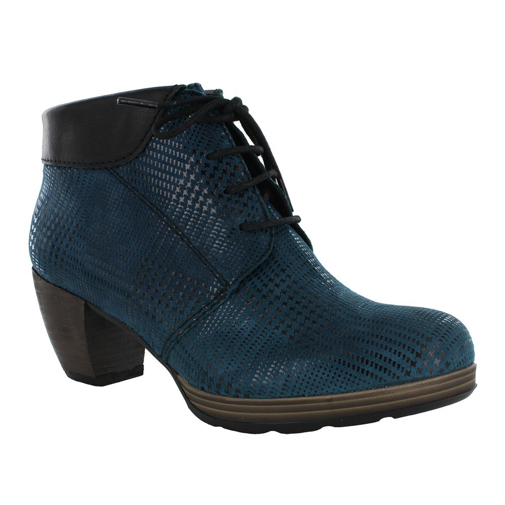 Wolky Comfort Boots 07983 Jacquerie B00WGV5Y5W 39 M EU|Petrol/Black Dessin Suede/Mighty