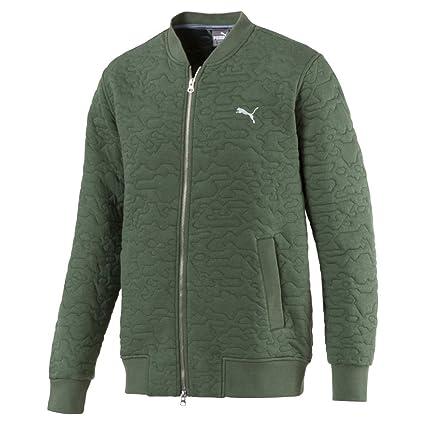 88609be7cad3 Amazon.com   PUMA Golf Men s 2018 Camo Bomber Jacket   Sports   Outdoors